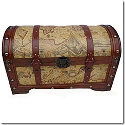 Overstock World Map Trunk
