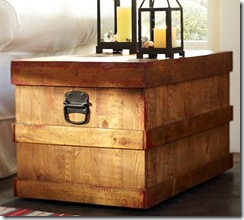 Pottery Barn Merritt Trunk